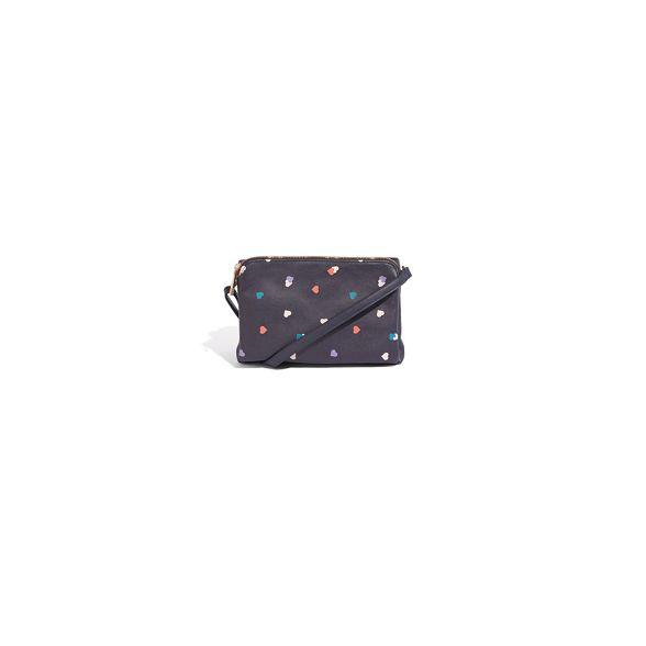 Oasis cross body print 'Hanna' bag Multi heart 'Freda' BrBwTqPx
