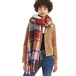 Oasis - Multi 'Fraas' check scarf
