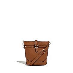 Oasis - Tan 'Brooke' bucket xbody