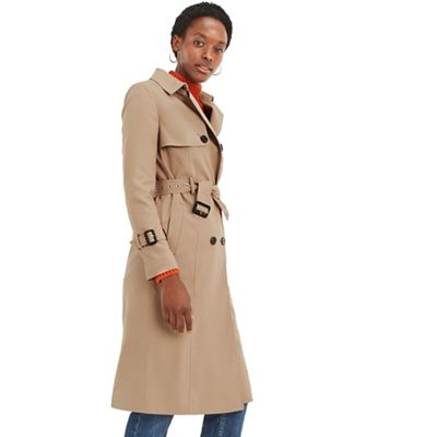 Oasis   Camel Long Fashion Mac by Oasis
