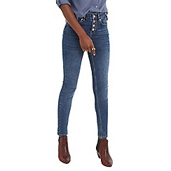 2b6b181eee2a Oasis - Denim button through skinny 'lily' jeans