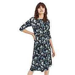 Oasis - Multi blue 'Oasis' heritage dress