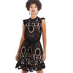 Oasis - Black lace dress