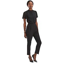 Oasis - Black angel sleeve 2 in 1 jumpsuit