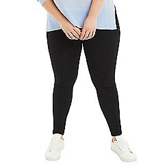 Oasis - Black Curve high waisted leggings