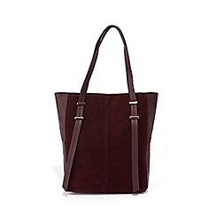 Oasis Burgundy Leather Per