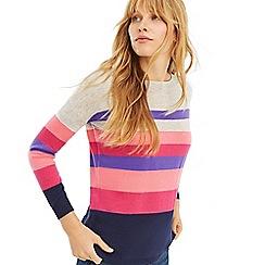 Oasis - Multi 'Bridgette' Stripe Jumper