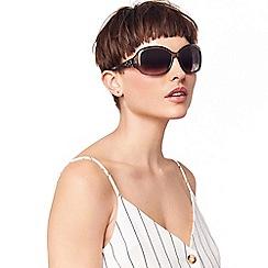 Oasis - Mid Grey 'Freya' Filigree Sunglasses