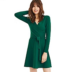 Oasis - Bright Green 'Millie' Tie Side Dress