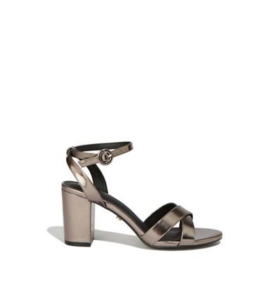 efee70a1535 Oasis - Metallic pewter  annie  block heels
