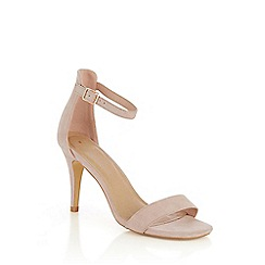 Oasis - Nude 'Estella' Going Out Heels Sandal
