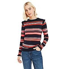 Oasis - Multi 'betty' stripe jumper