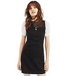 Oasis - Black slash neck dress