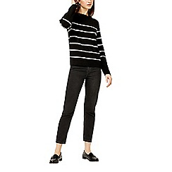 Warehouse - Stripe button sleeve jumper