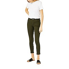 Warehouse - Crop skinny cut jeans