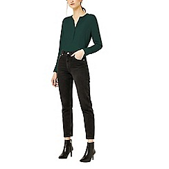 Warehouse - Long sleeve button side blouse