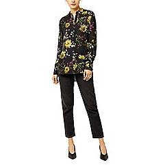 Warehouse - Dutch floral print blouse