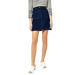 Warehouse - Patch pocket denim skirt