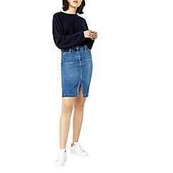 Warehouse - Split front pencil skirt