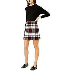 Warehouse - Red check skirt