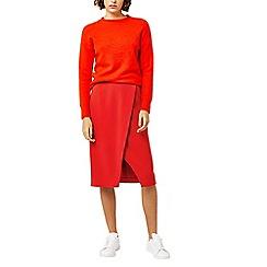 Warehouse - Wrap pencil skirt