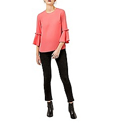 Warehouse - Double frill top