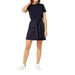 Warehouse - Compact cotton mini skirt