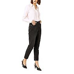 Warehouse - Pink stripe smock sleeves shirt