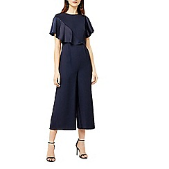 Warehouse - Satin and crepe mix jumpsuit