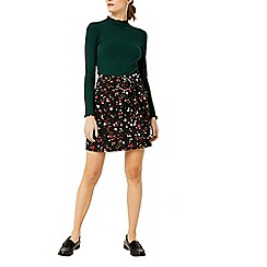 Warehouse - Granite print pelmet skirt