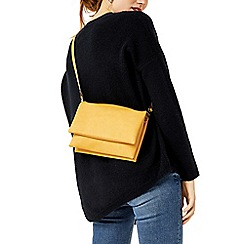 Warehouse - Double compartment crossbody bag
