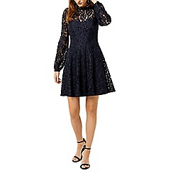 Warehouse - Lace skater dress