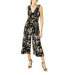 Warehouse - Trailing floral jumpsuit