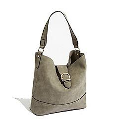 Warehouse - Tab buckle tote bag
