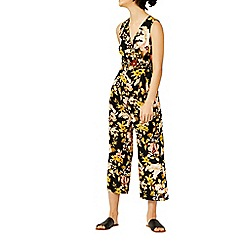 Warehouse - Hibiscus sleeveless jumpsuit