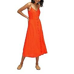 Warehouse - Fern jacquard cami dress