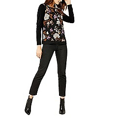 Warehouse - Molly floral woven front top