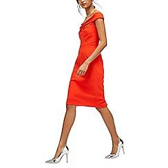 Warehouse - Bardot pencil dress