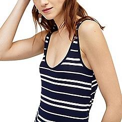 Warehouse - Stripe swing vest