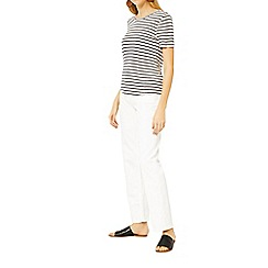 Warehouse - Stripe smart fit t-shirt