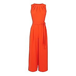 Warehouse - Gathered neck jumpsuit