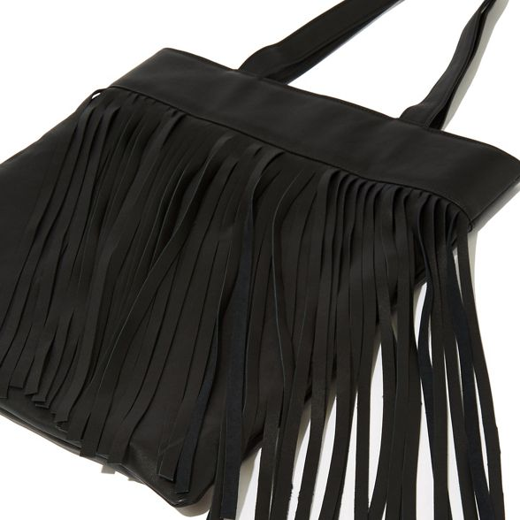 Warehouse Leather fringe Warehouse Leather fringe shopper shopper bag SSUPxZnRwr