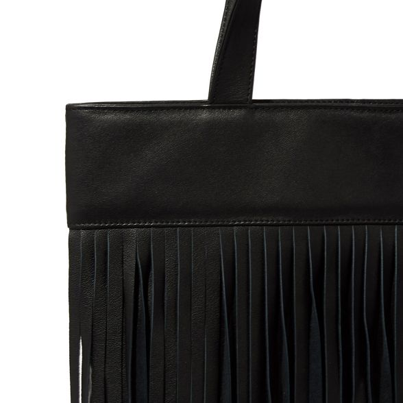 shopper bag Warehouse Leather Warehouse fringe Leather fringe shopper bag v8FqvC0