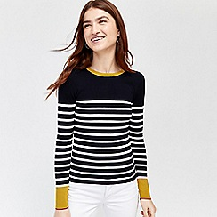 Warehouse - Breton block stripe jumper
