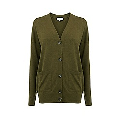 Warehouse - Longline button cardigans