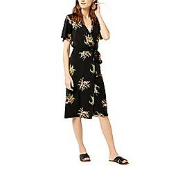 Warehouse - Tropical bunch wrap dress