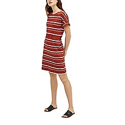 Warehouse - Stripe short sleeve dress