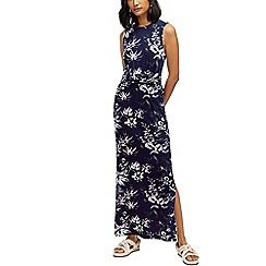 Warehouse - Monotropical maxi dress