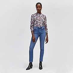 Warehouse - Sculpt high rise skinny jeans