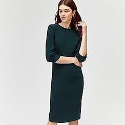 Warehouse - Sleeve tuck midi dress